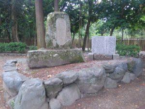 大宝神社 芭蕉の句碑