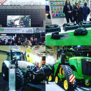 イタリアでの農機具展示会